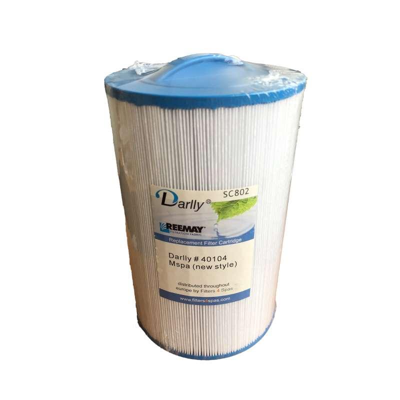 Darlly® Filter 40104 Ersatzfilter Lamellenfilter Mspa Whirlpool SC802