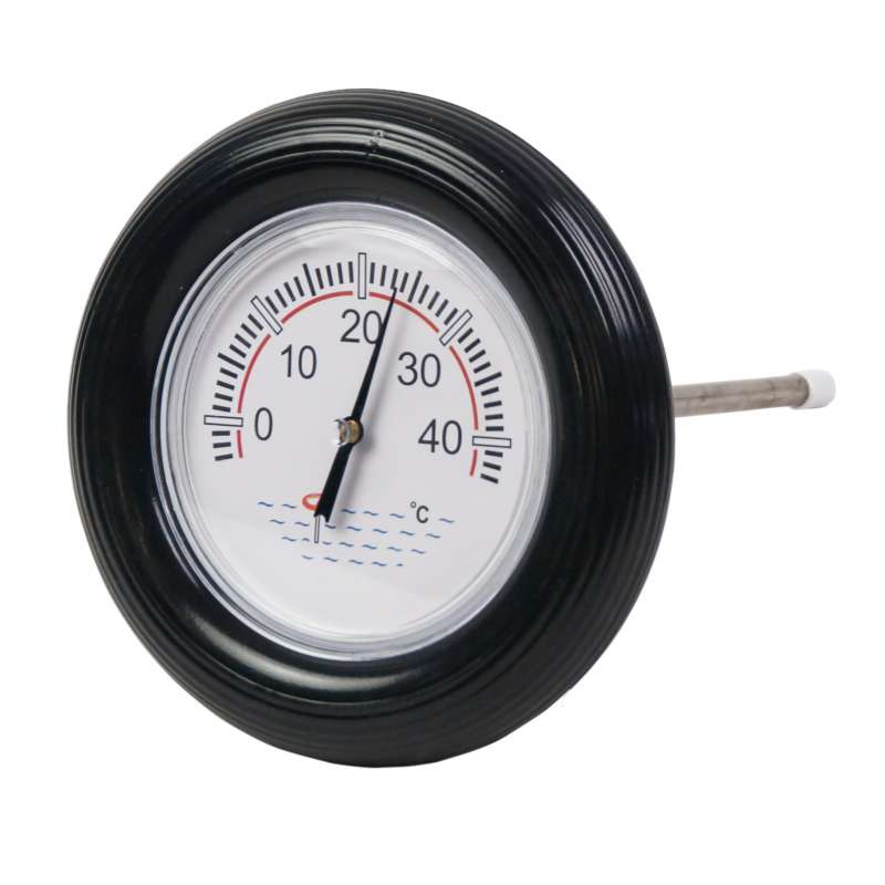 Rundthermometer mit Schwimmring Badethermometer Schwimmbad Pool