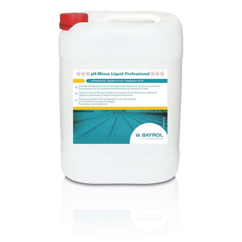 Bayrol pH Minus flüssig ca. 27 kg zur pH Wert Senkung Schwimmbadpflege 1194334