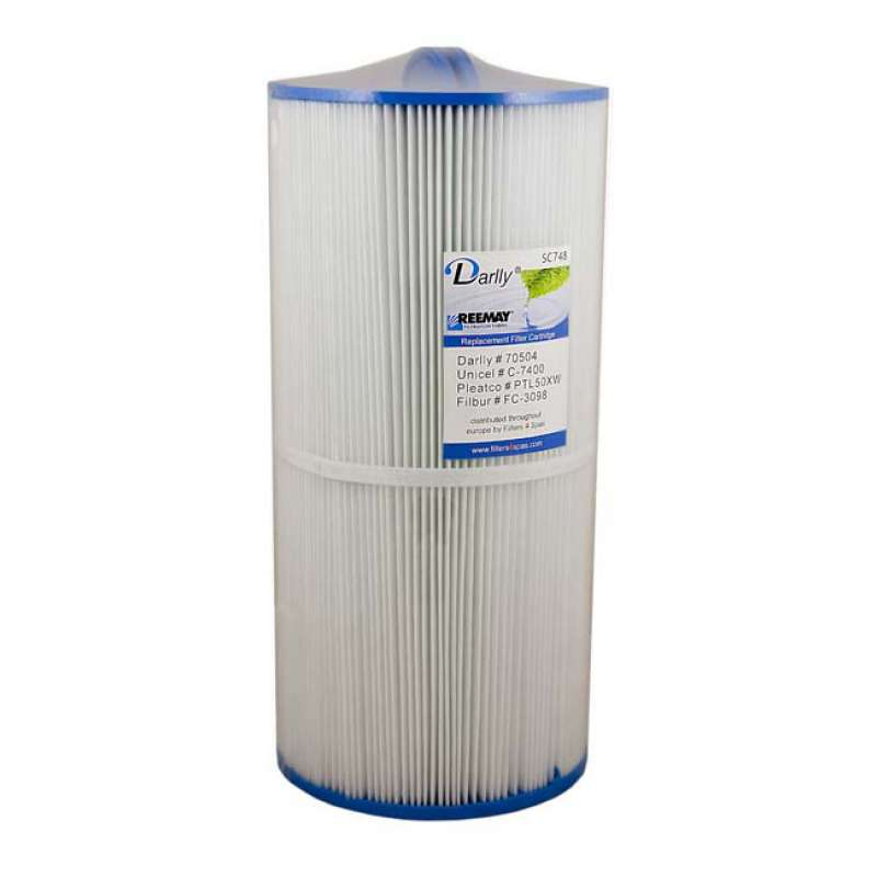 Darlly® Filter Ersatzfilter SC748 Lamellenfilter Goldkey Spas Sunrice Hercules