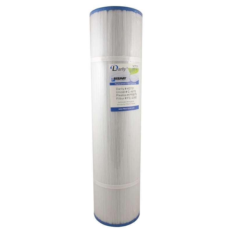 Darlly® Filter Ersatzfilter SC733 Lamellenfilter Hydropool Coast Spas