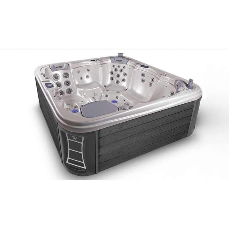 Wellis EveRest Whirlpool Outdoor Außenwhirlpool 5 Personen inkl. Thermoabdeckung