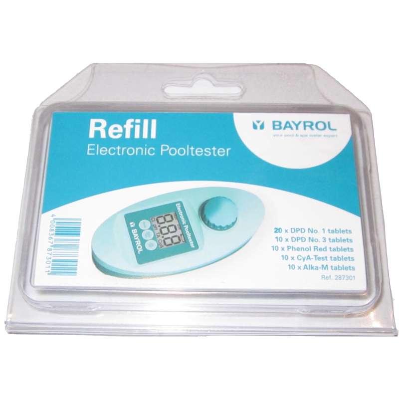 Bayrol Zubehör Nachfüllpack Tabletten für elektronischen Pooltester 287301