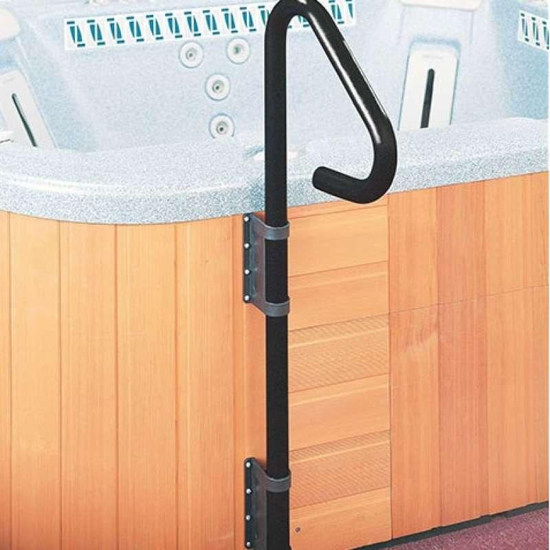 Safe-T Rail Handlauf Handgriff für Whirlpool schwarz