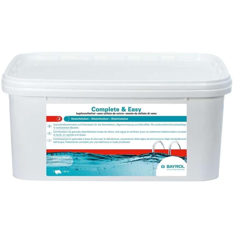 Bayrol Complete & Easy 2,24 kg komplette Wasserpflege auf Chlorbasis 4199295
