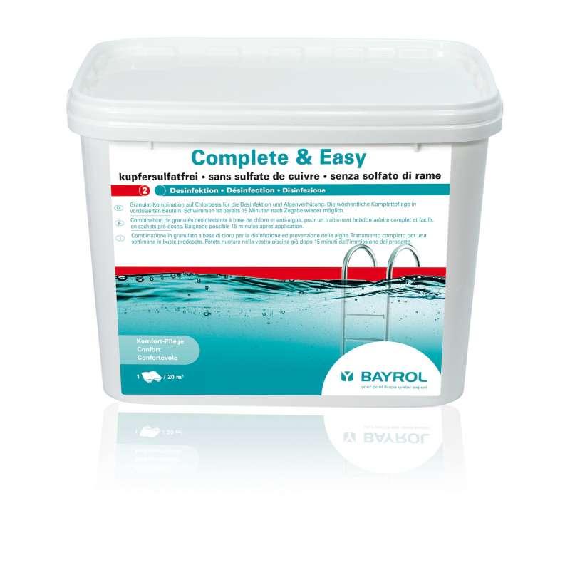 Bayrol Complete & Easy 4,48 kg komplette Wasserpflege Chlor 4199299