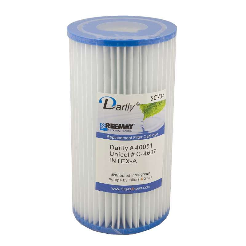 Darlly® Filter Ersatzfilter SC734 Lamellenfilter Intex A Pools Whirlpool