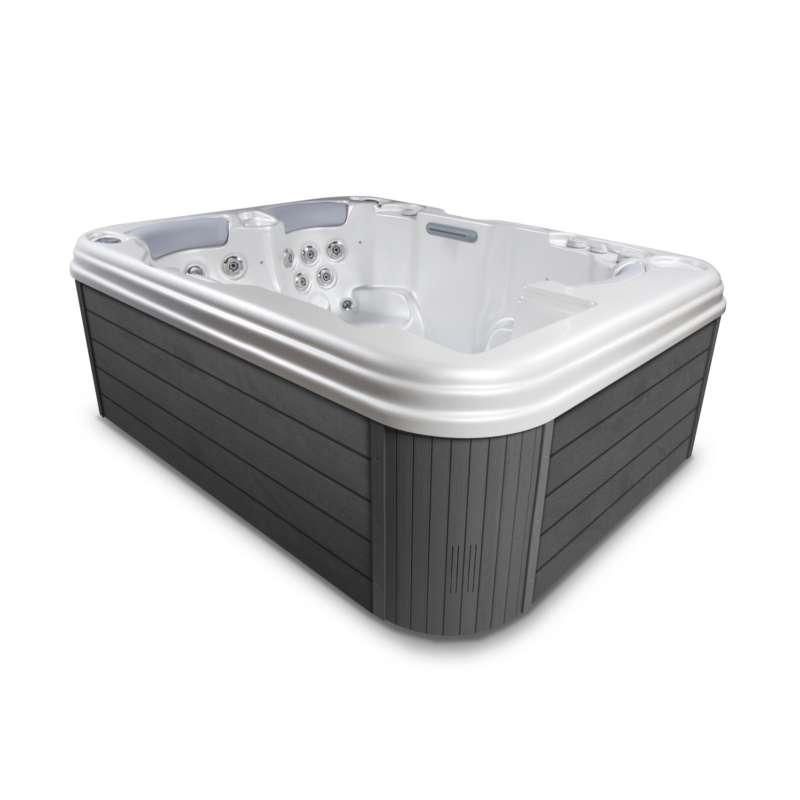 Wellis Titan Whirlpool Outdoor Außenwhirlpool 3 Personen inkl. Thermoabdeckung