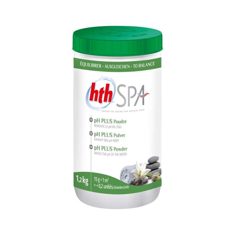 hth Spa pH-Plus Pulver 1,2 Kg pH-Wert Hebung für Whirlpools und Spas
