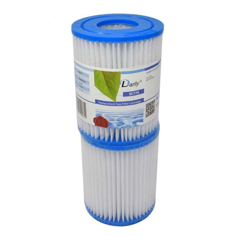 Darlly® Filter Ersatzfilter SC770 Lamellenfilter Laz Y Spa Whirlpool