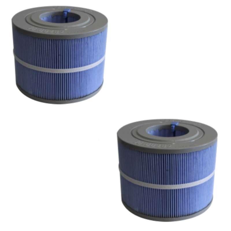 Villeroy & Boch Whirlpool Filterset für Design Line 2 x Ersatzfilter UCCOM1321 Just Silence