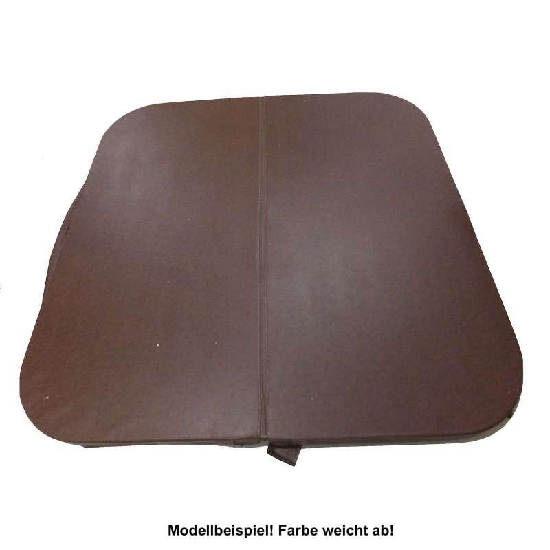 Whirlpoolabdeckung V&B 201 x 224 cm Whirlpool Cover 251/451 Chocolate