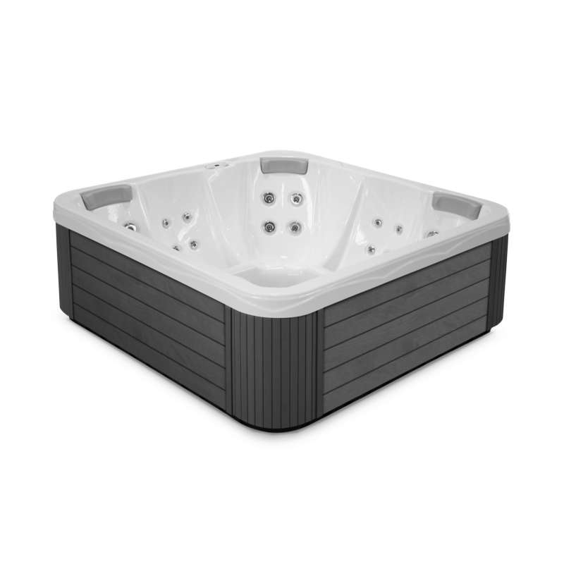 Wellis Sun Family Plug&Play Whirlpool Außenwhirlpool 3 Personen inkl. Thermoabdeckung