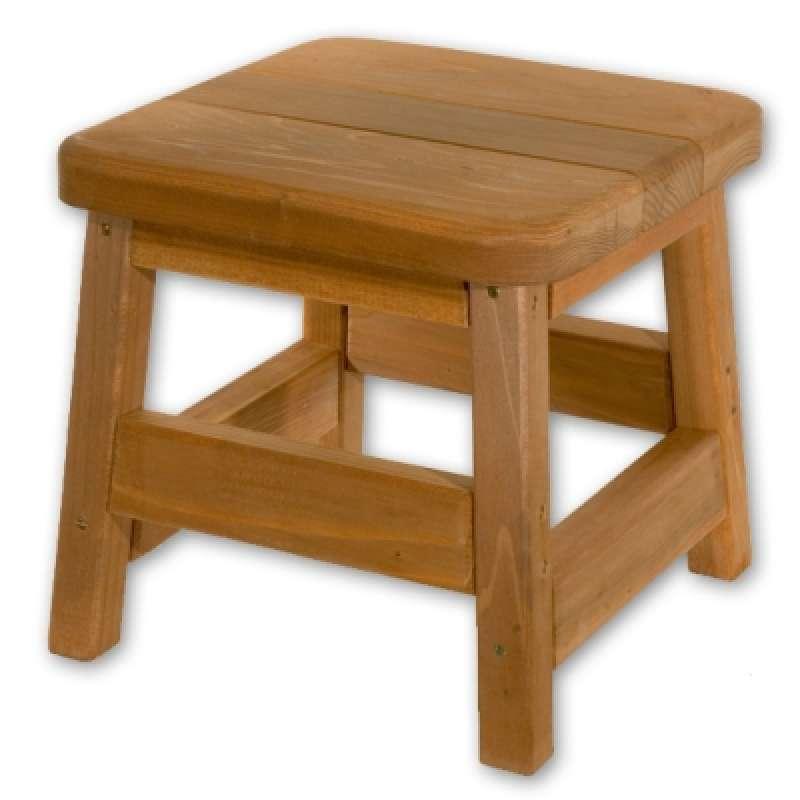 Softub Stool aus Redwoodholz 40 cm hoch kleiner Hocker 46201000