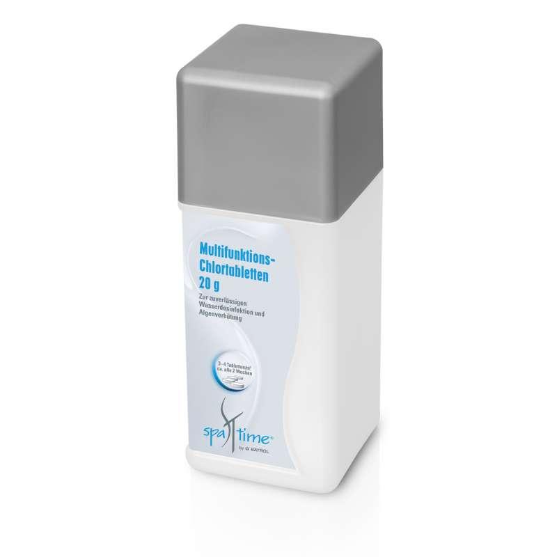 Bayrol SpaTime Multifunktions-Chlortabletten 1 kg Wasserpflege für Whirlpool