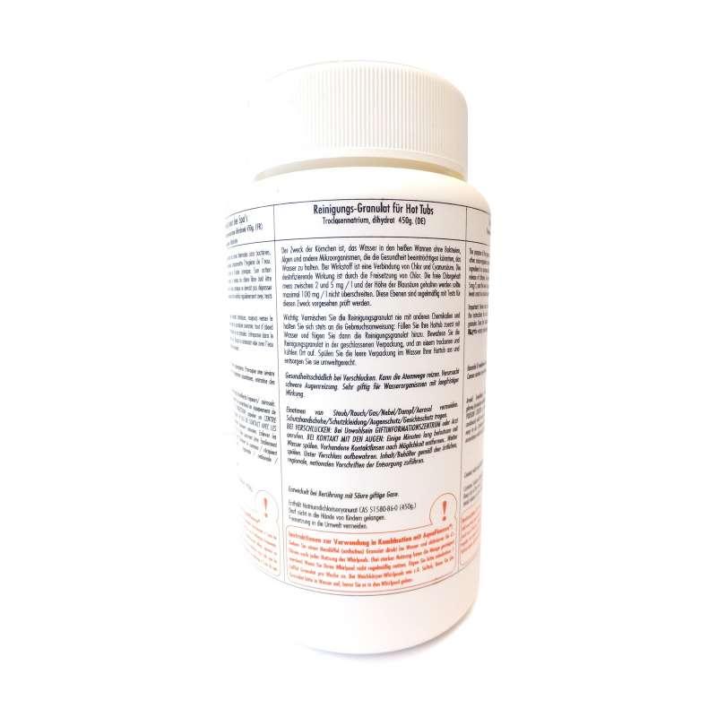 AquaFinesse Reinigungsgranulat Chlorgranulat 450 g