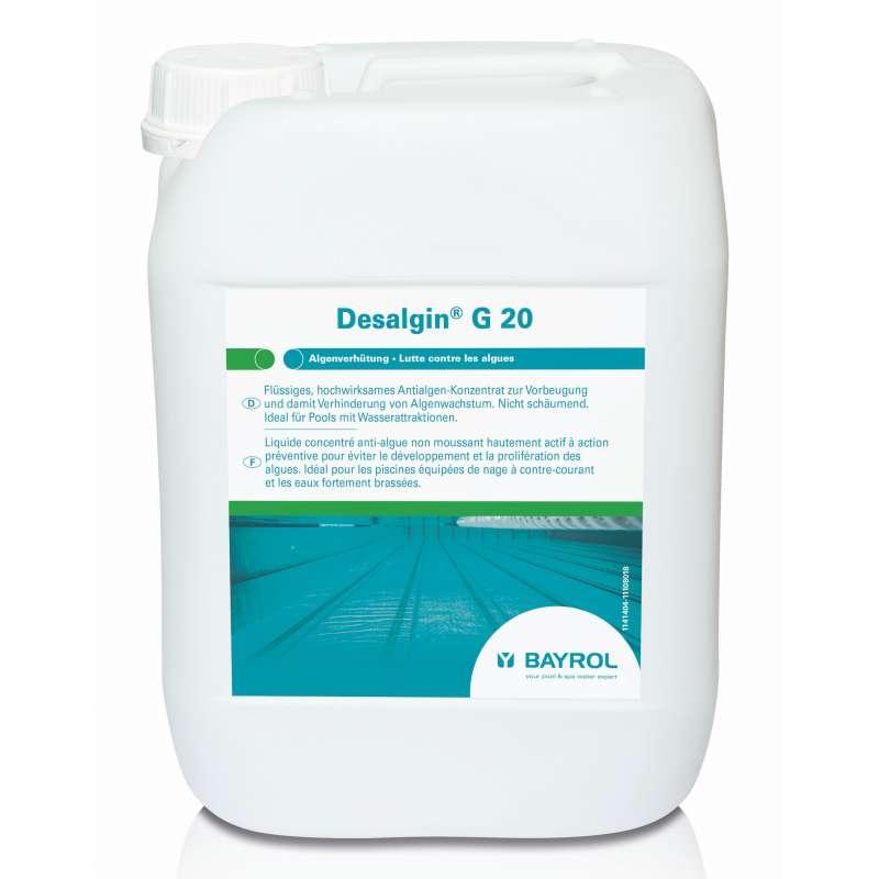 Bayrol Desalgin G20 Algen - Konzentrat 10 kg Kanister Wasserpflege Poolpflege