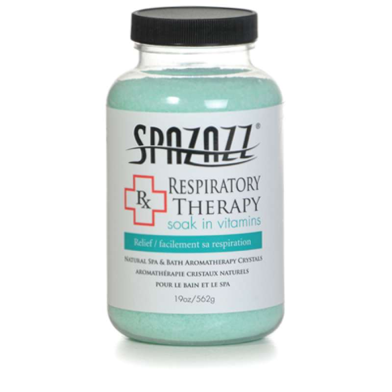 Spazazz 'Rx Therapy' Spa Crystals Respiratory Therapy-Relief 562g