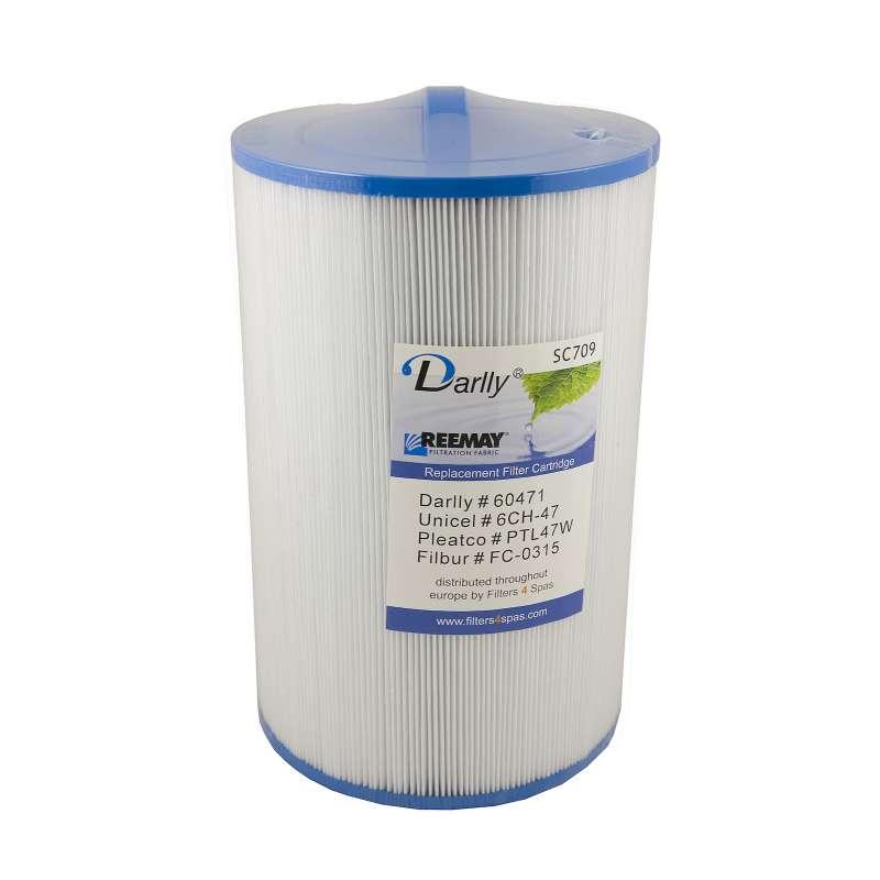 Darlly® Kartuschenfilter Ersatzfilter SC709 Whirlpool Costco Crystal Water