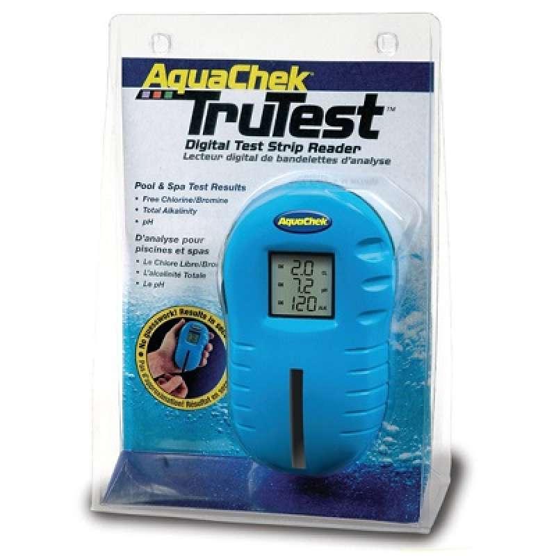 AquaChek Automatisches Pooltestgerät TruTest (Chlor pH) inkl. 25 Teststreifen