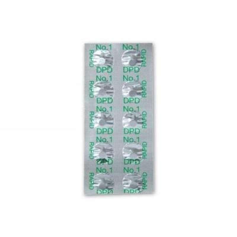 Tabletten DPD Nr. 1 Pooltester Chlor Nachfüllset 3 X 10 Tabletten