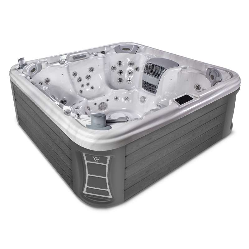Wellis Elbrus 230 Whirlpool Outdoor Außenwhirlpool für 7 Personen inkl. Thermoabdeckung