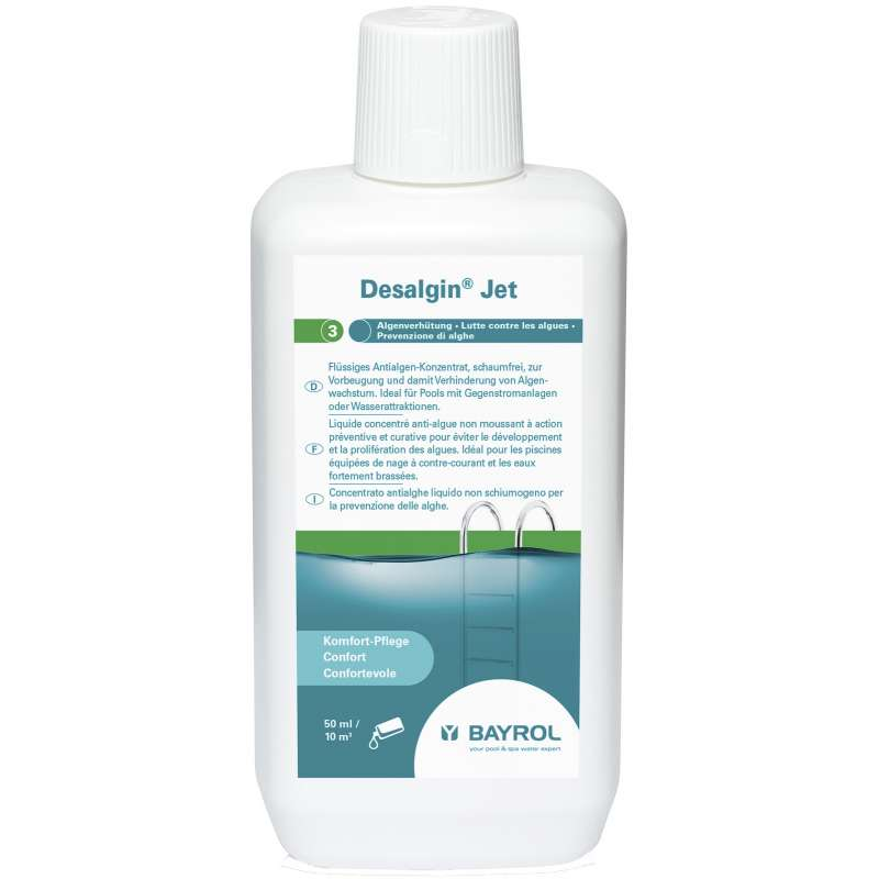 Bayrol Desalgin Jet 1 Liter Algenverhütung Algenschutz Poolpflege 1141501