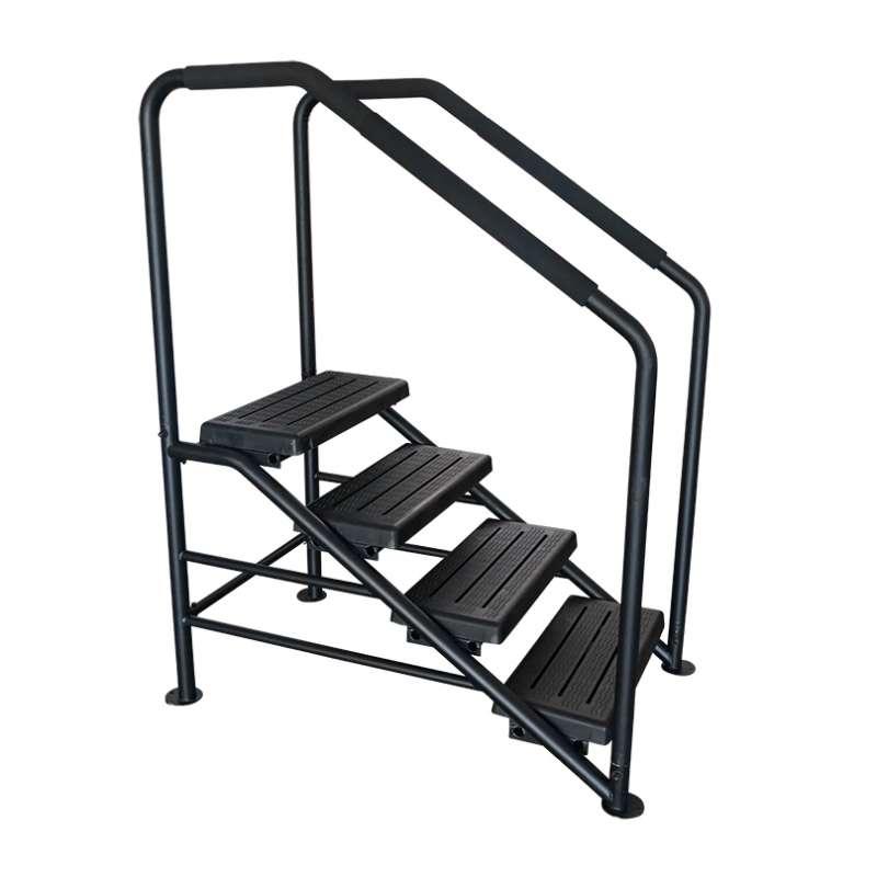 Swim Spa DELUXE Stufen - Stabil - 4 Stufen mit Handlauf Treppen Pool