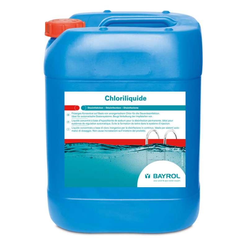 Bayrol ChloriLiquid 20 Liter für Dauerdesinfektion Schwimmbadpflege 1134130