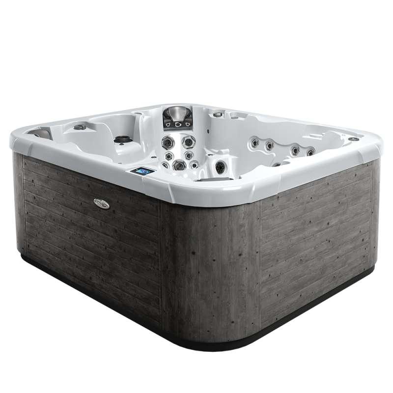 Dimension One Executive Spa Whirlpool für 8-9 Personen 279 x 234 x 106 cm grau/weiß