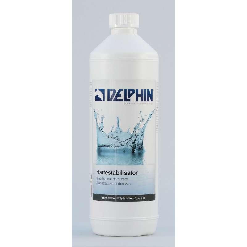 Delphin Härte Stabilisator 1 Liter Schwimmbad Poolpflege Wasserpflege 1106001D