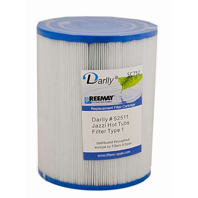 Darlly® Filter Ersatzfilter SC752 Lamellenfilter Jazzi Spa 1 Filtereinsatz