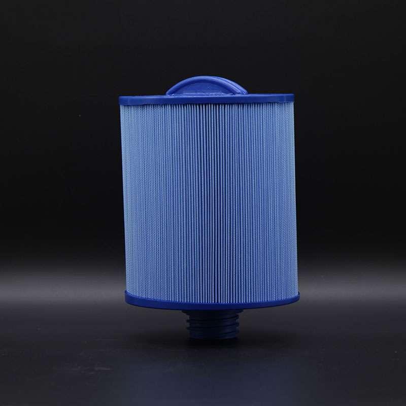 Weillis Filtereinsatz 17,5 x 15,2 cm Blau Whirlpoolfilter Lamellenfilter AKU0135