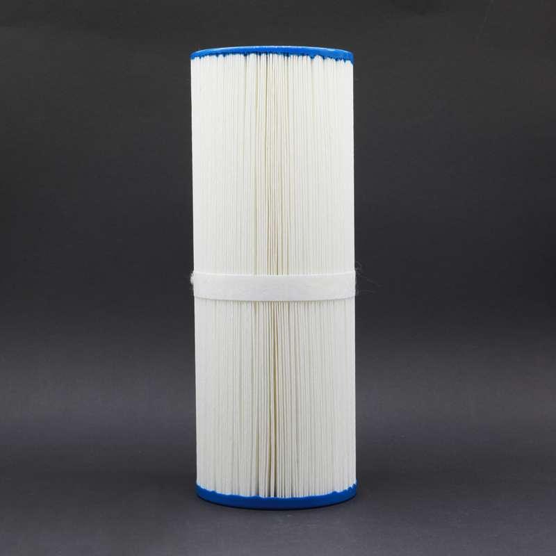 Weillis Schwimmfilter 33,7 x 12,4 cm Weiß Whirlpoolfilter Filtereinsatz AKU1831
