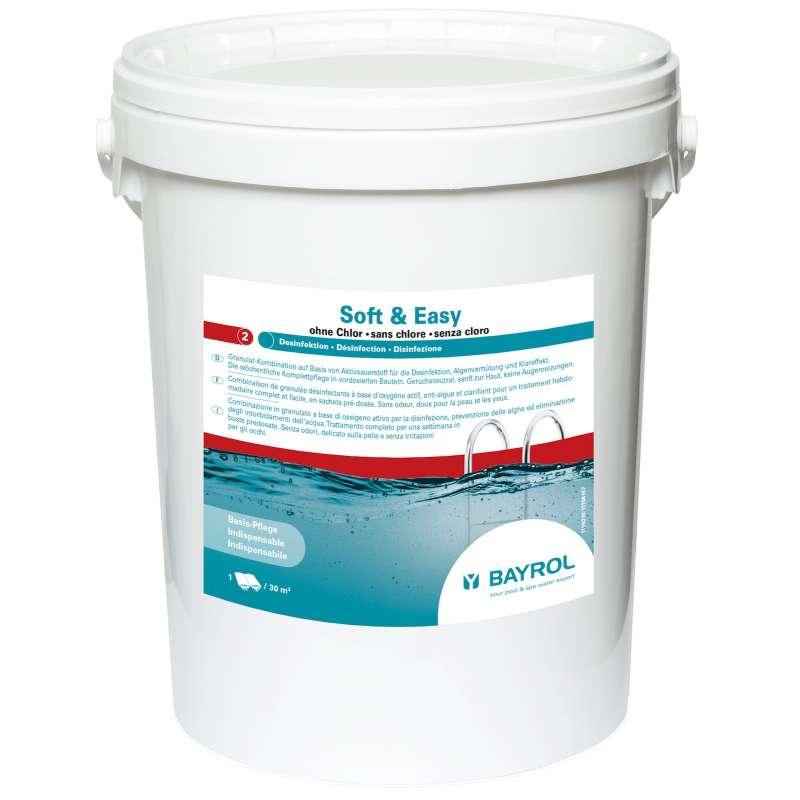 Bayrol Soft & Easy 16,8 kg Komplettpflege ohne Chlor Poolgröße ab 30 m³ 1199210