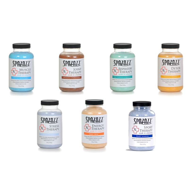 Spazazz 'Rx Therapy' Spa Crystals Set 7 x 562g