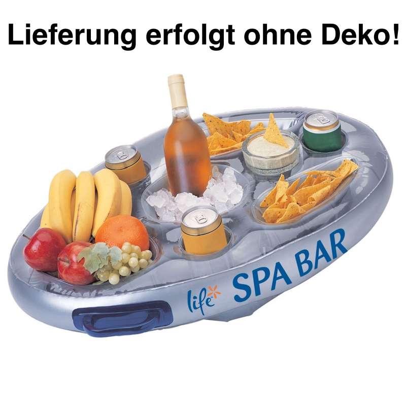Life Spa Bar aufblasbare Minibar Whirlpool Tisch für Getränke und Snacks