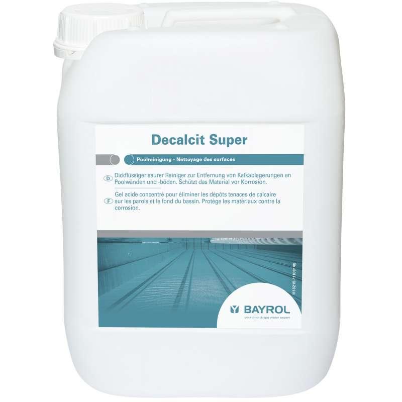 Bayrol Decalcit Super 10 kg saurer Reiniger entfernt Kalkablagerung 1113215