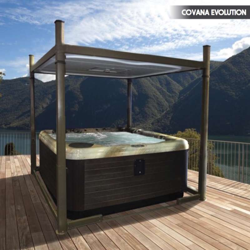 stunning abdeckung whirlpool jacuzzi images. Black Bedroom Furniture Sets. Home Design Ideas
