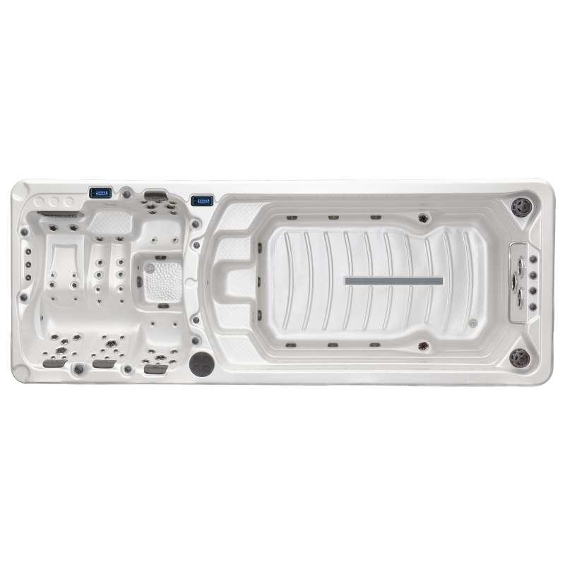 A-Spas Boost 7000 Swim Spa Whirlpool-/ Schwimmbereich getrennt 588 x 224 x 167 cm