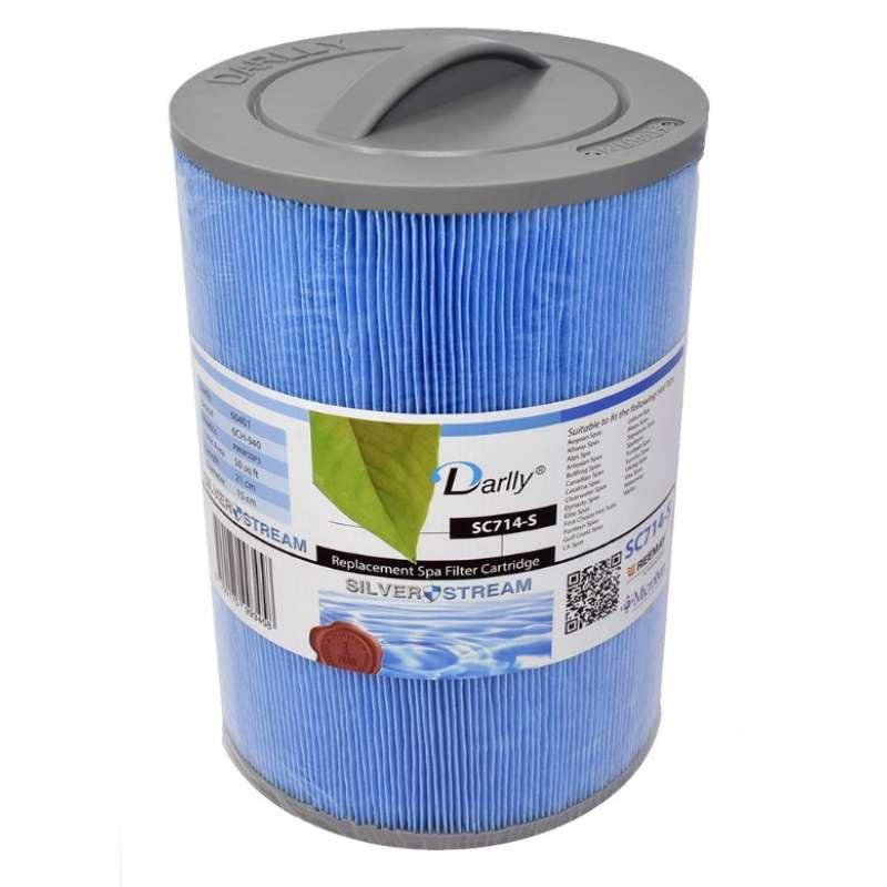 Darlly® Filter Ersatzfilter SC714-S Lamellenfilter ca. 21 x 15 cm