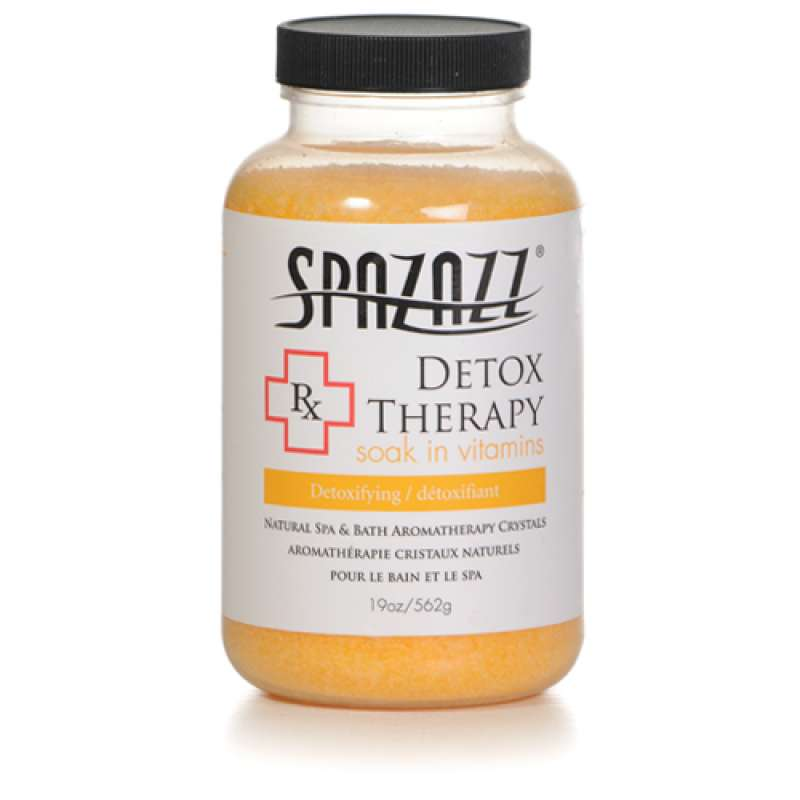 Spazazz 'Rx Therapy' Spa Crystals Detox Therapy-Detoxifying 562g
