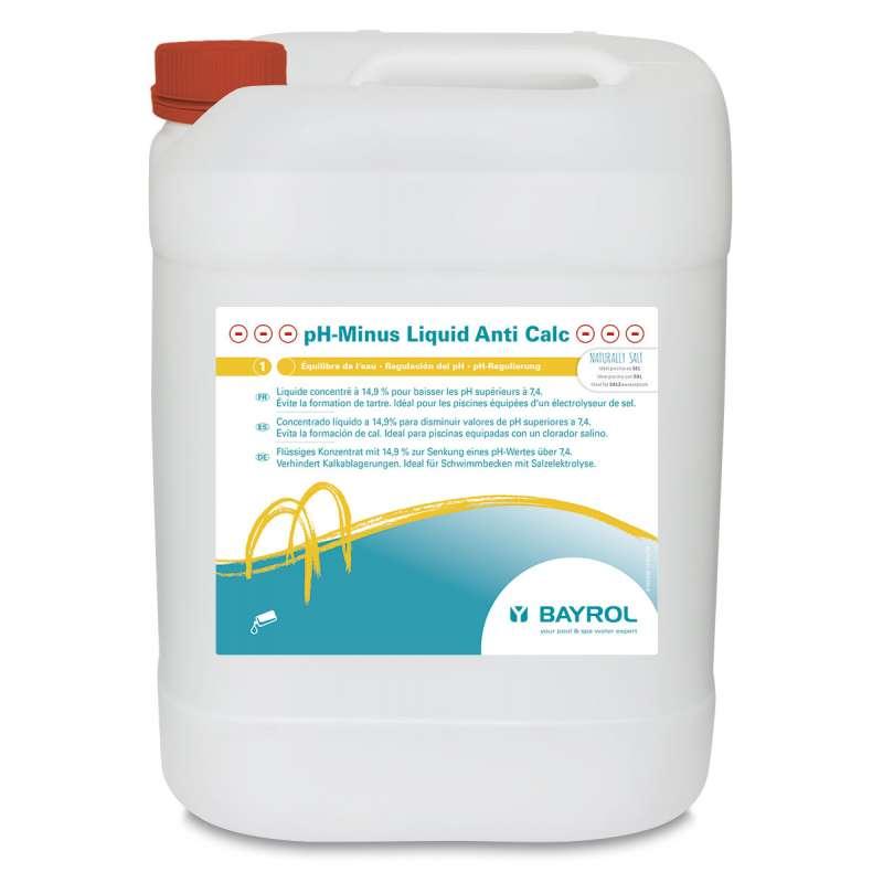 Bayrol pH-Minus Liquid Anti Calc 20 L 14,9 % pH-Wert Senkung für Schwimmbecken mit Salzelektrolyse