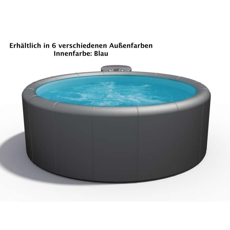 Softub Whirlpool Modell Resort 300 5 bis 6 Personen verschiedene Farben innen blau