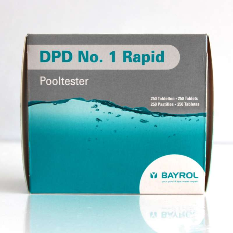 Bayrol DPD No. 1 Rapid Tabletten für Pooltester Chlorwert 250 Tabletten