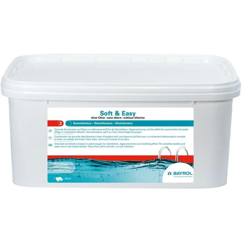 Bayrol Soft & Easy 2,24 kg Komplettpflege ohne Chlor Poolgröße ab 20 m³ 4199208