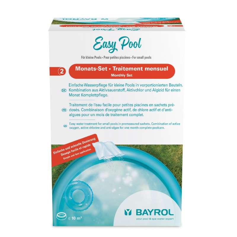 Bayrol Easy Pool & Spa Monats-Set 0,6 kg Komplettpflege Aktivsauerstoff Algizid für Pools