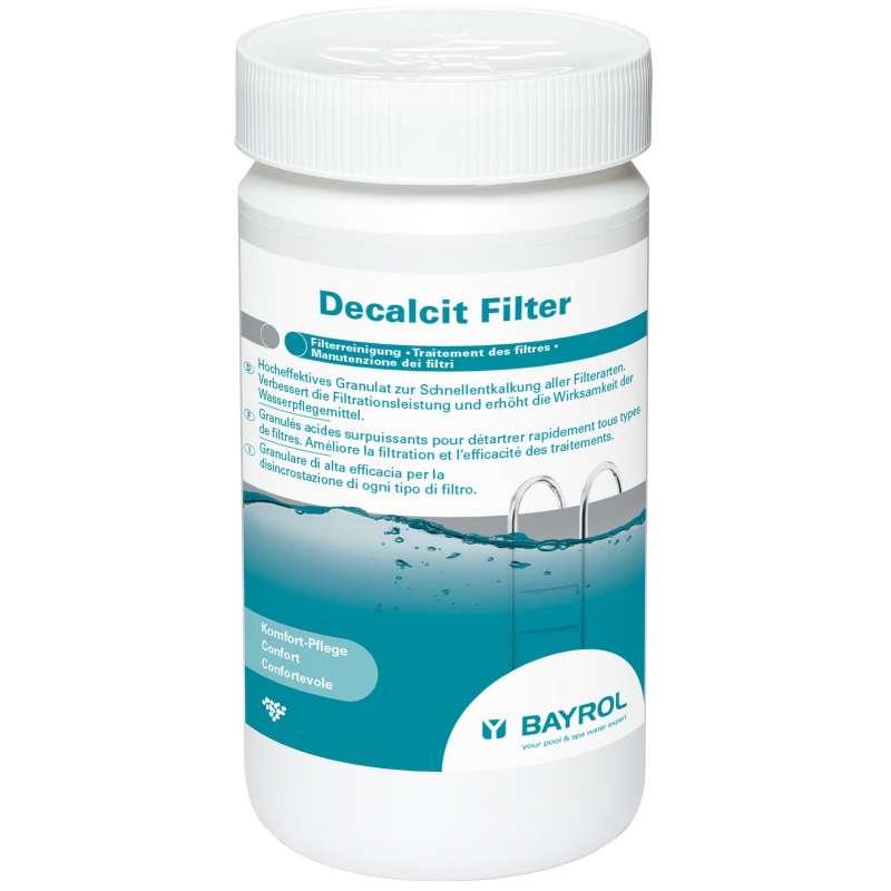 Bayrol Decalcit Filter 1 kg Filterreinigung Granulat Poolpflege 1113111