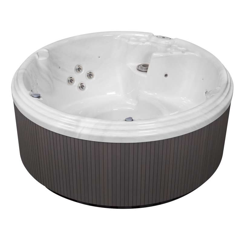 Wellis Earth Whirlpool Outdoor Außenwhirlpool 5 Personen inkl. Thermoabdeckung