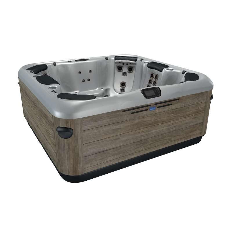 Villeroy & Boch Whirlpool A7L Titanium Timber Premium Line für 6 Personen